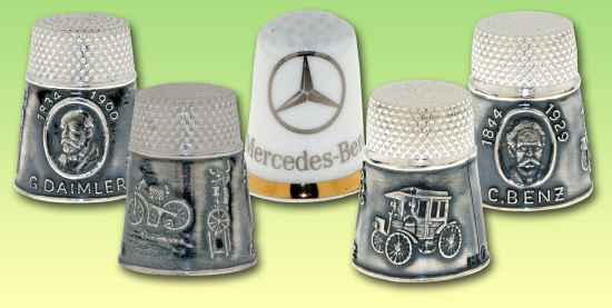 The Daimler and Benz were merged with Mercedes