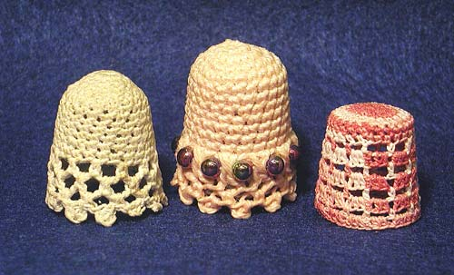 crocheted Thimbles