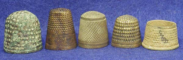 Thimbles of the Middle Ages